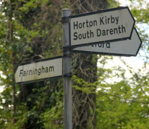 Horton Kirby, Kent Home of Henry Skudder (Scudder)