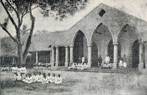 The Oodooville Girls Boarding School, date unstated but prior to 1890 main building