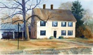 Rev. John Lothrop Home, Barnstable, Massachusetts (now the Sturgis Library)