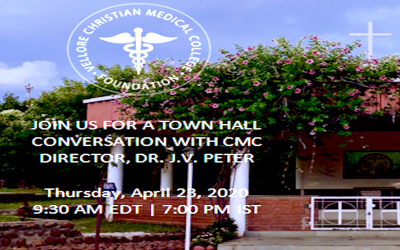 Town Hall Conversation With CMC Director, Dr. J.V. Peter