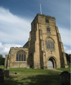 St. Dunstan's church, Cranbrook, Kent, England