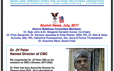 CMC Vellore Names New Director